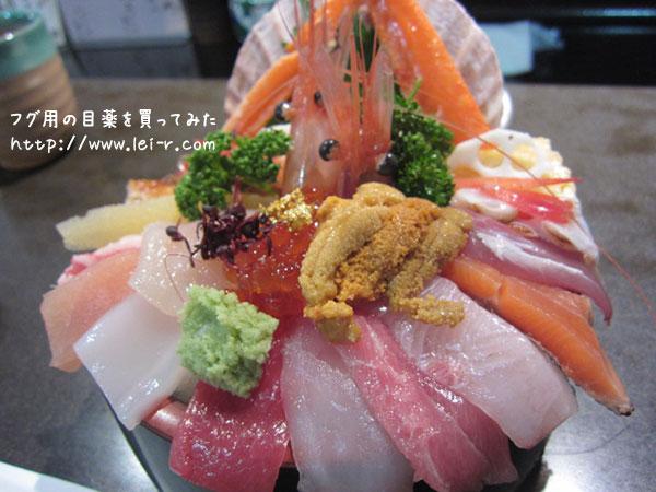 近江町市場 山さん寿司のおすすめメニュー 海鮮丼