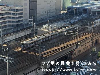 金沢マンテンホテル駅前 北陸新幹線や在来線が見える部屋