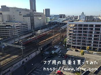 金沢マンテンホテル駅前 北陸新幹線が見える部屋