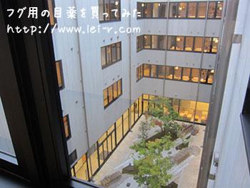 金沢彩の庭ホテル 中庭