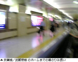 東京駅からディズニー(京葉線)